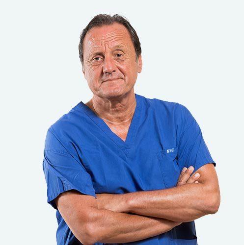 Dott. Lorenzo Fonzone Caccese, specialista nella cura dell'alluce valgo, formatore della tecnica PBS messa a punto dal dott. Andrea Bianchi